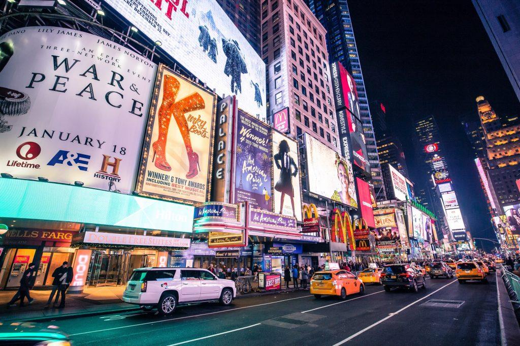 Broadway by Denys Nevozhai on Unsplash