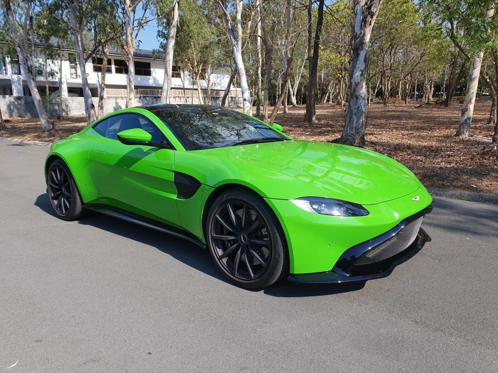 The Aston Martin Vantage A Supremely Balanced Delight